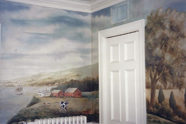 Orono Dining Room Mural